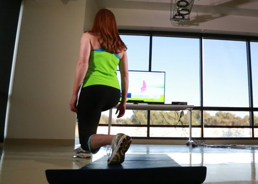 Reflexion Health's Kinect for Windows-based tool helps measure how patients respond to physical therapy.