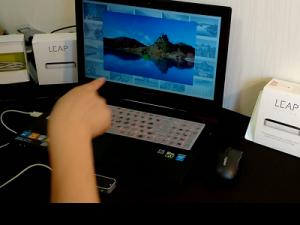 LeapMotion浏览图片